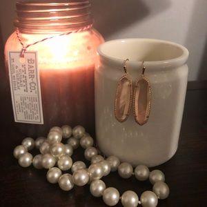 Kendra Scott Peach Drop Earrings - Retired Style!